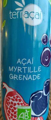 Açai myrtille grenade - Produit