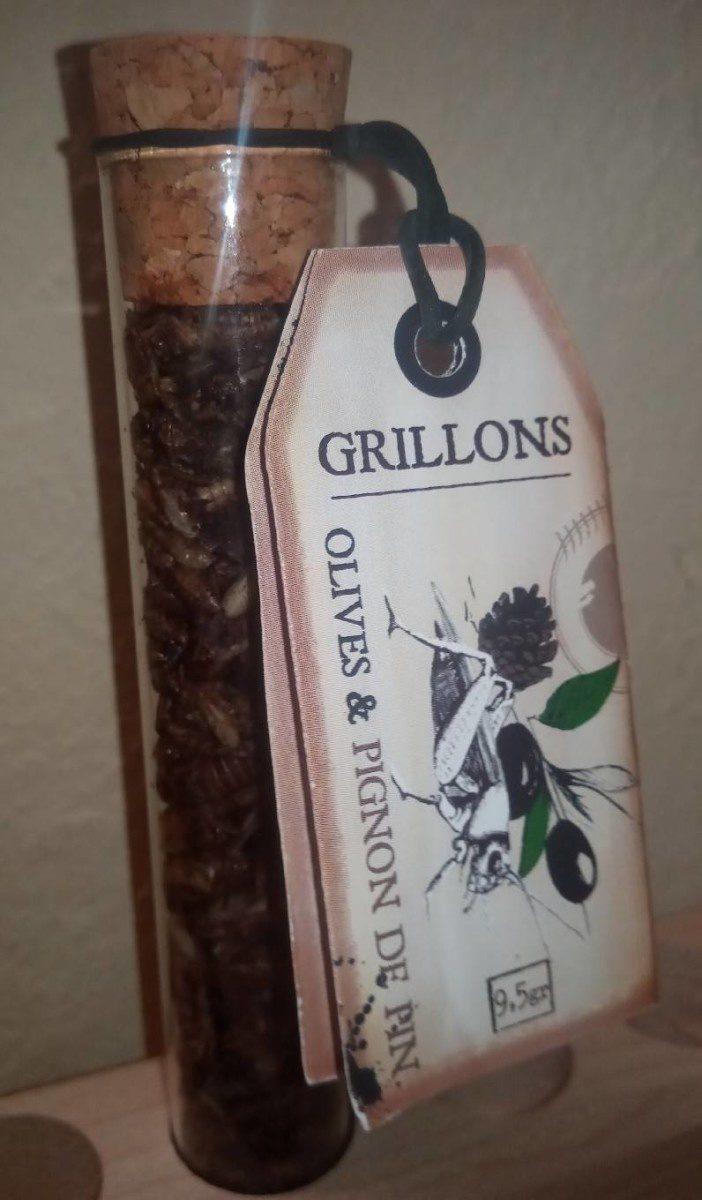 Grillons olives & pignon de pin - Produit - fr