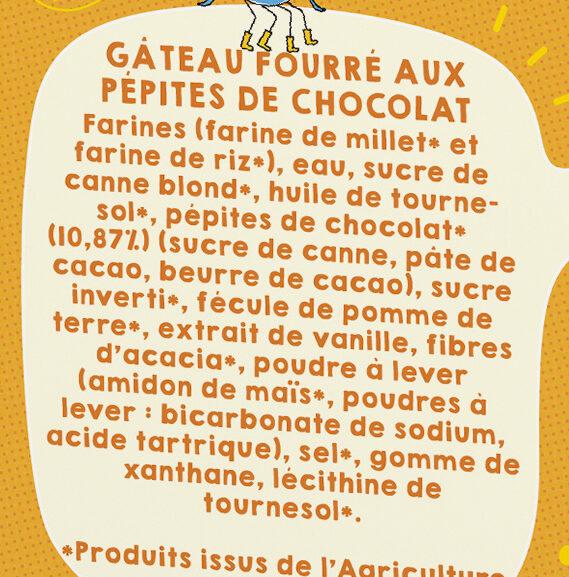 Le Moelleux Pépites - Ingredients