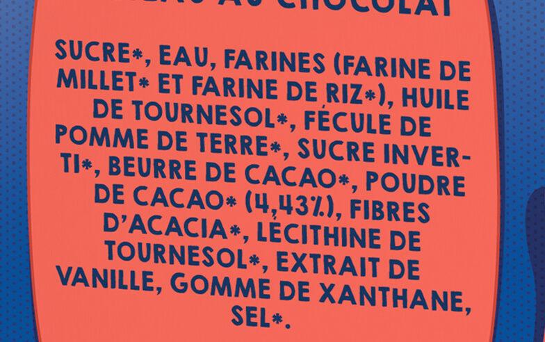 Le Brownie - Ingrédients - fr