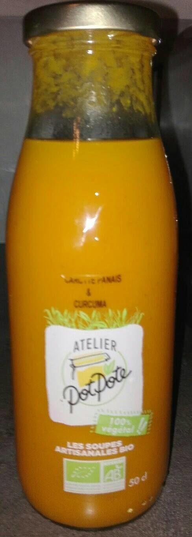 Soupe Carotte, Panais et Curcuma - Product