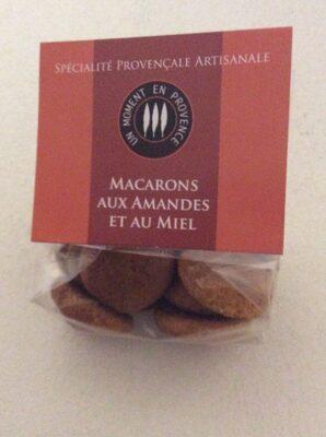 Macarons aux amandes et au miel - Produit