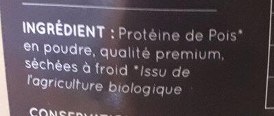 Protéine de pois - Ingredients - fr