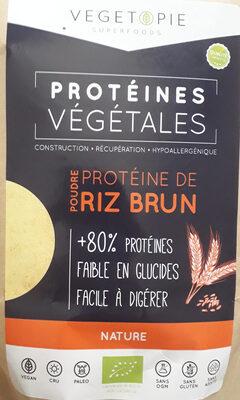 Poudre protéine de riz brun - Product - fr