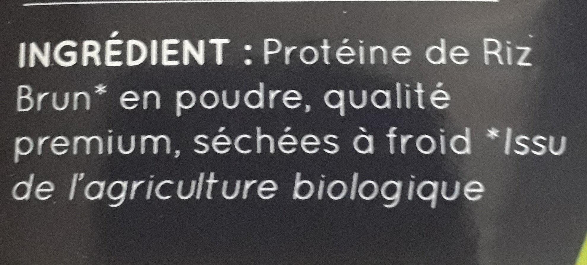 Poudre protéine de riz brun - Ingredients - fr
