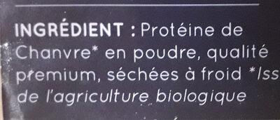Protéine de chanvre - Ingredients - fr