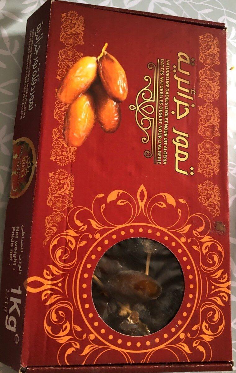 Dattes deglet nour d'Algerie - Product