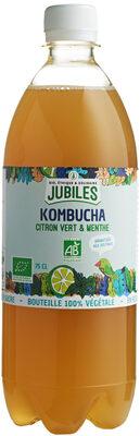Kombucha Citron Vert Menthe - Produit - fr