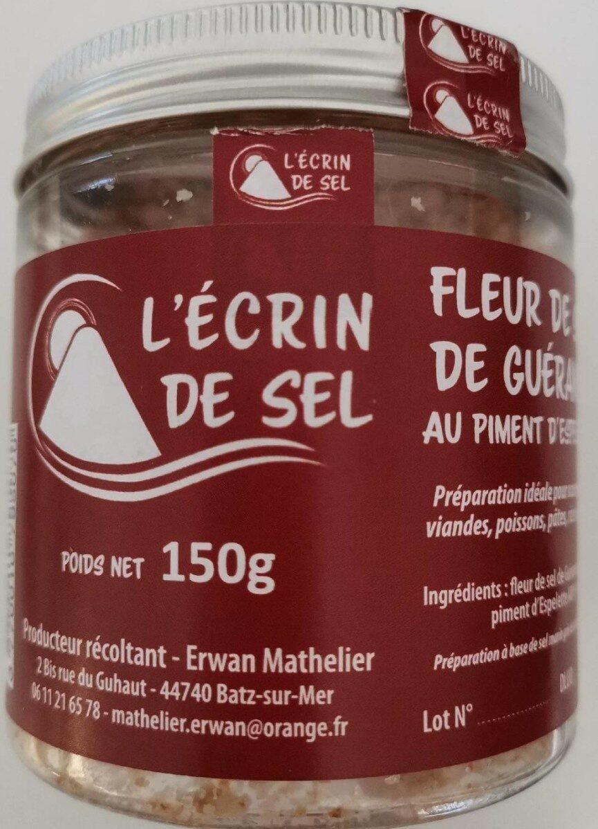 Fleur de Sel de Guerande au piment d'espelette - Product - fr