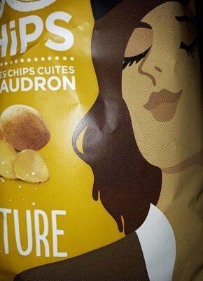 chips nature cuite au chaudron - Product - fr
