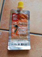 Energy fruit pulp - Patate douce, Carotte, Orange - Produit