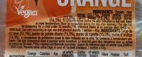 Energy fruit pulp - Patate douce, Carotte, Orange - Ingrédients