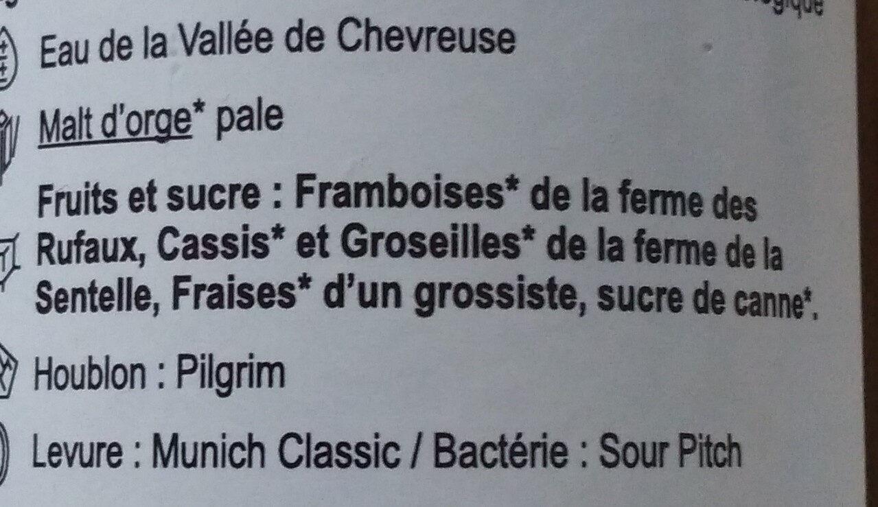 Berry - Ingrediënten - fr