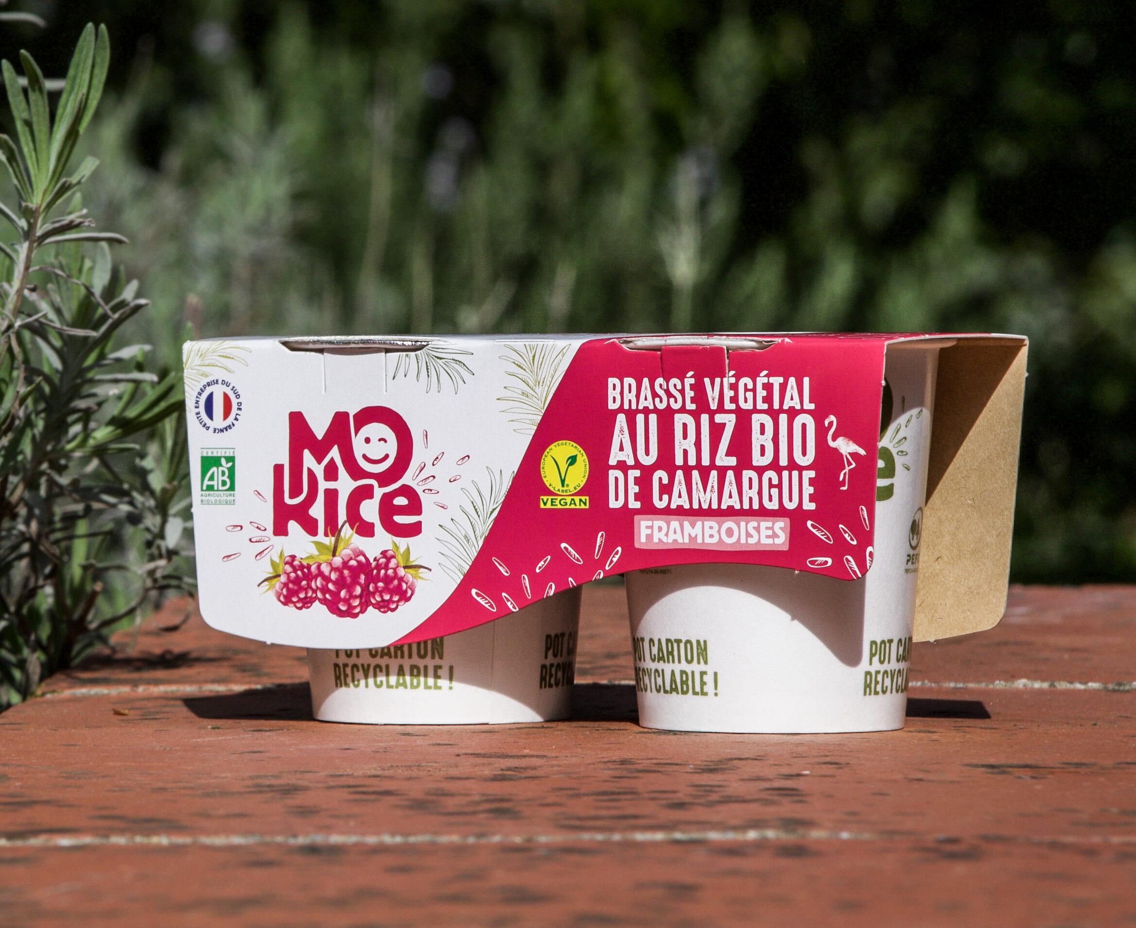 Brassé végétal Mo'Rice à la Framboise - Producto