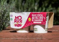 Brassé végétal Mo'Rice à la Framboise - Ingredientes