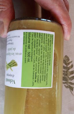 velouté  d'asperges avec les légumes du jardin - Produit