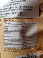 Krunola - Voedingswaarden - fr