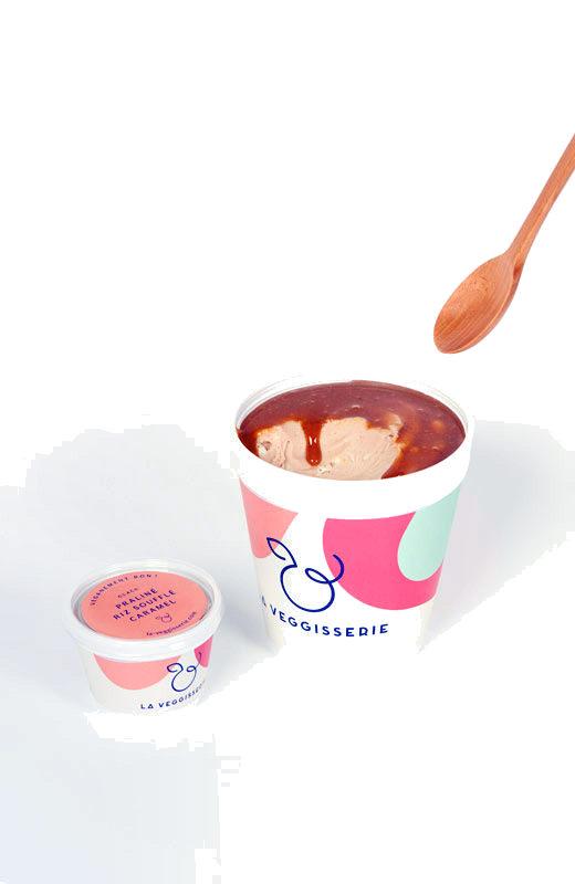 Glace Praliné Riz Soufflé Caramel - Product