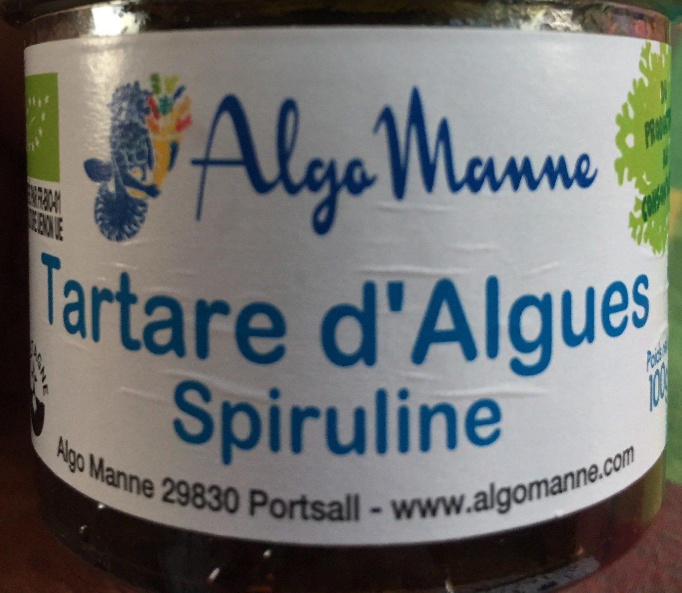 Tartare d'algues Spiruline - Product