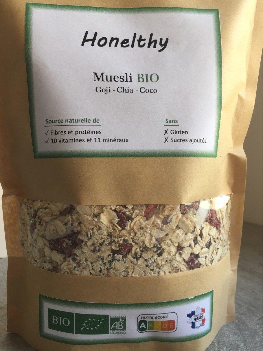 Muesli Goji Chia Coco - Produit - fr