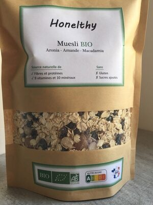 Muesli Aronia Amande Macadamia - Produit - fr