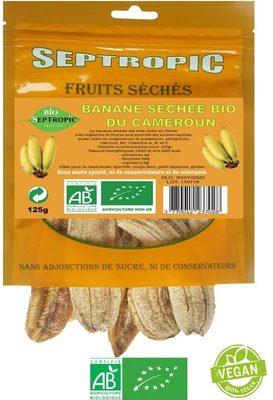 Banane séchée bio - Product - fr