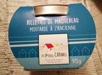 Rillettes de maquereau moutarde à l'ancienne - Produit - fr