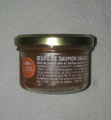 Oeufs de Saumon sauvage du Kamtchatka - Produit - fr