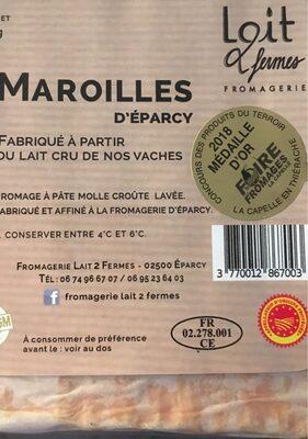 Maroilles d eparcy - Produit - fr