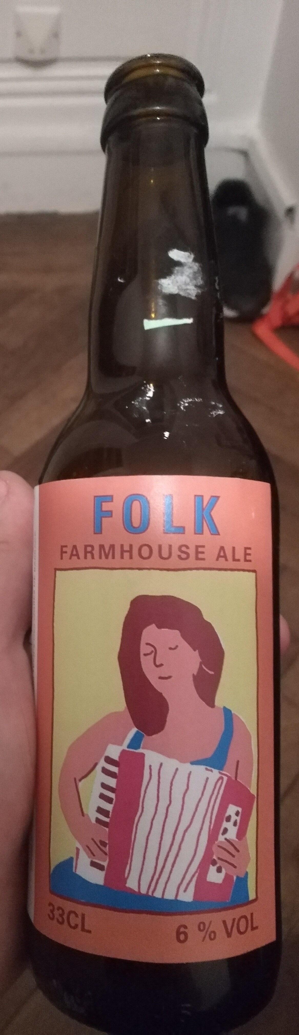 Folk - Farmhouse Ale - Product - fr