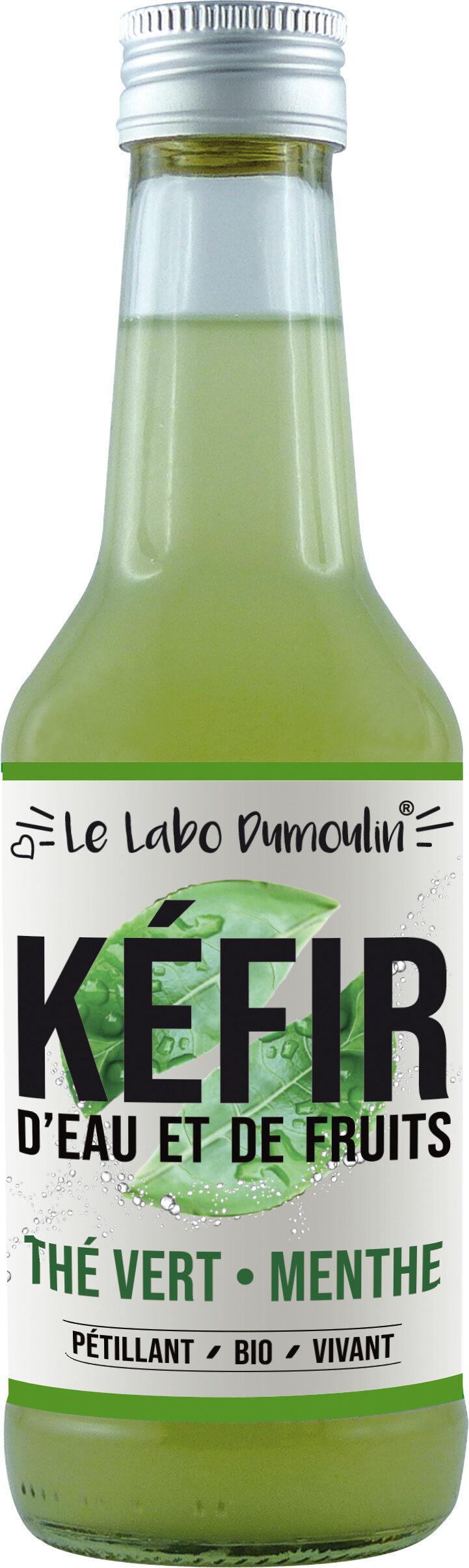 Kéfir de fruits Thé Vert Menthe bio - Produit - fr