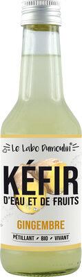 Kéfir de fruits Gingembre bio - Produit - fr