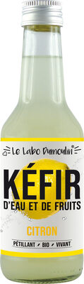 Kéfir de fruits Citron bio - Produit - fr
