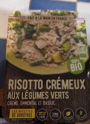 Risotto crémeux aux légumes verts - Produit - fr