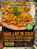 Dahl lait de coco - Produit