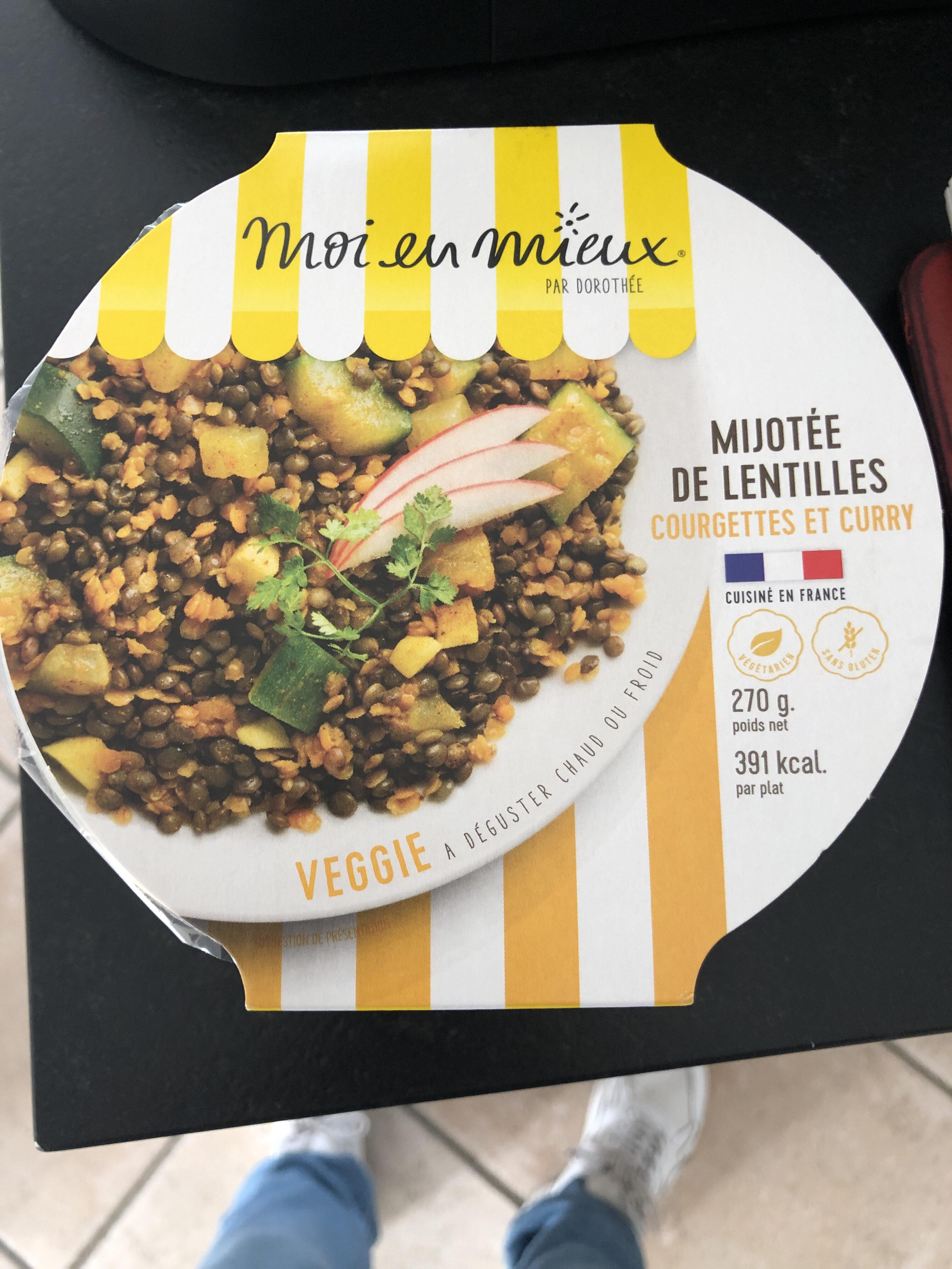 Mijotée de lentille - Produit - fr