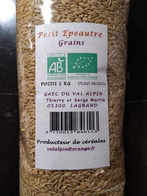 Spelt grains - Product - en