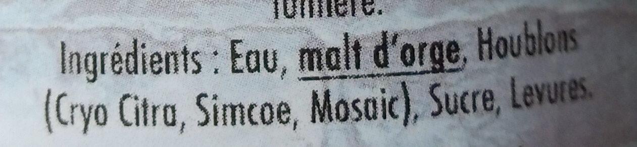 Now Get This - Ingredients - fr
