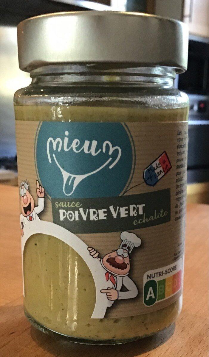 Sauce condimentaire poivre-vert et échalote - Product