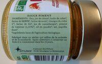 Sauce Piment - Ingrediënten - fr