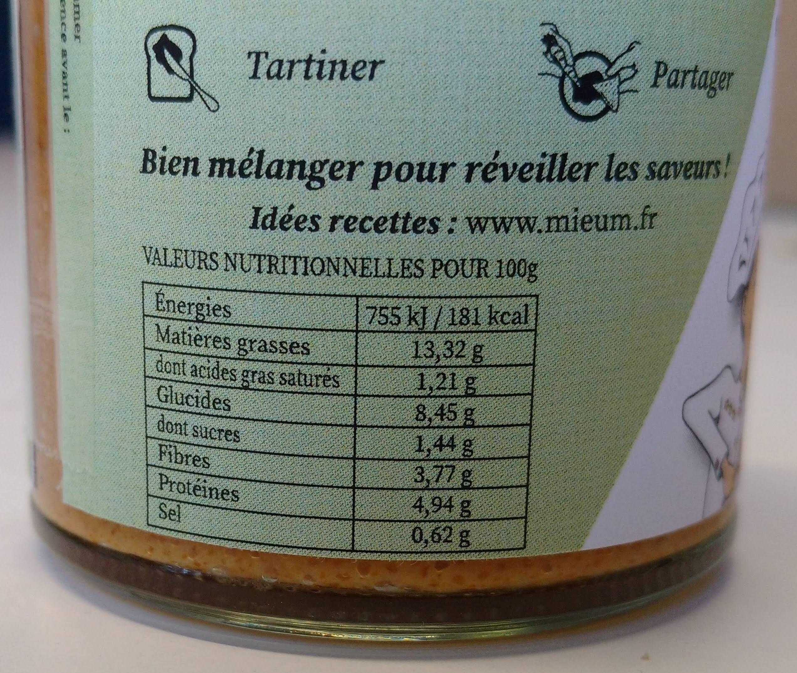 Sauce Piment - Voedingswaarden - fr