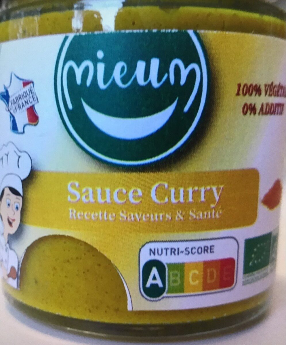 Sauce curry - Product - fr