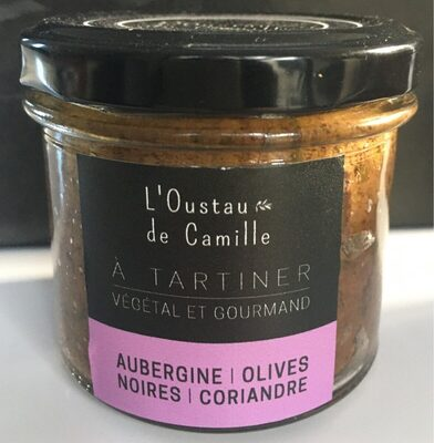 A tartiner Aubergine olives noires coriandre - Product