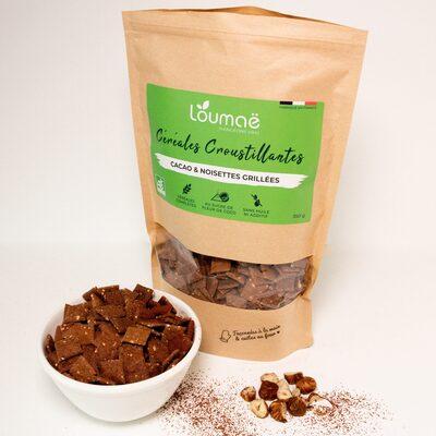 Céréales petit déjeuner - Cacao & Noisettes grillées - Produit