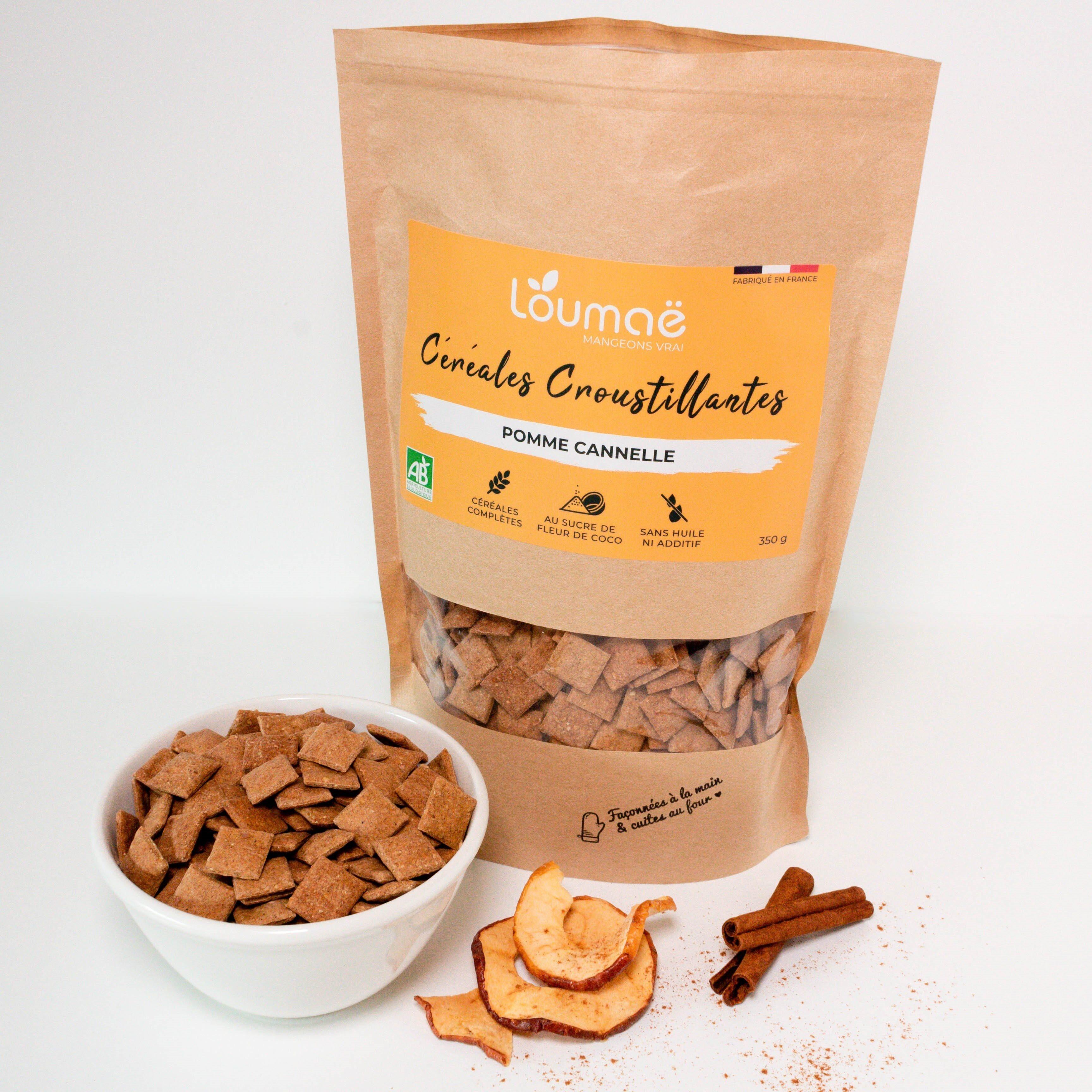 Céréales petit déjeuner - Pomme Cannelle - Produit - fr