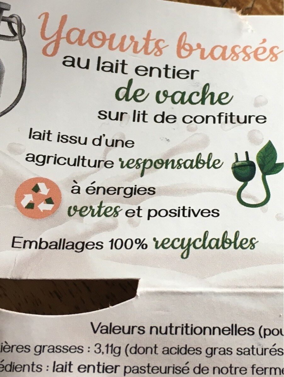 Yaourths brassés - Product - fr