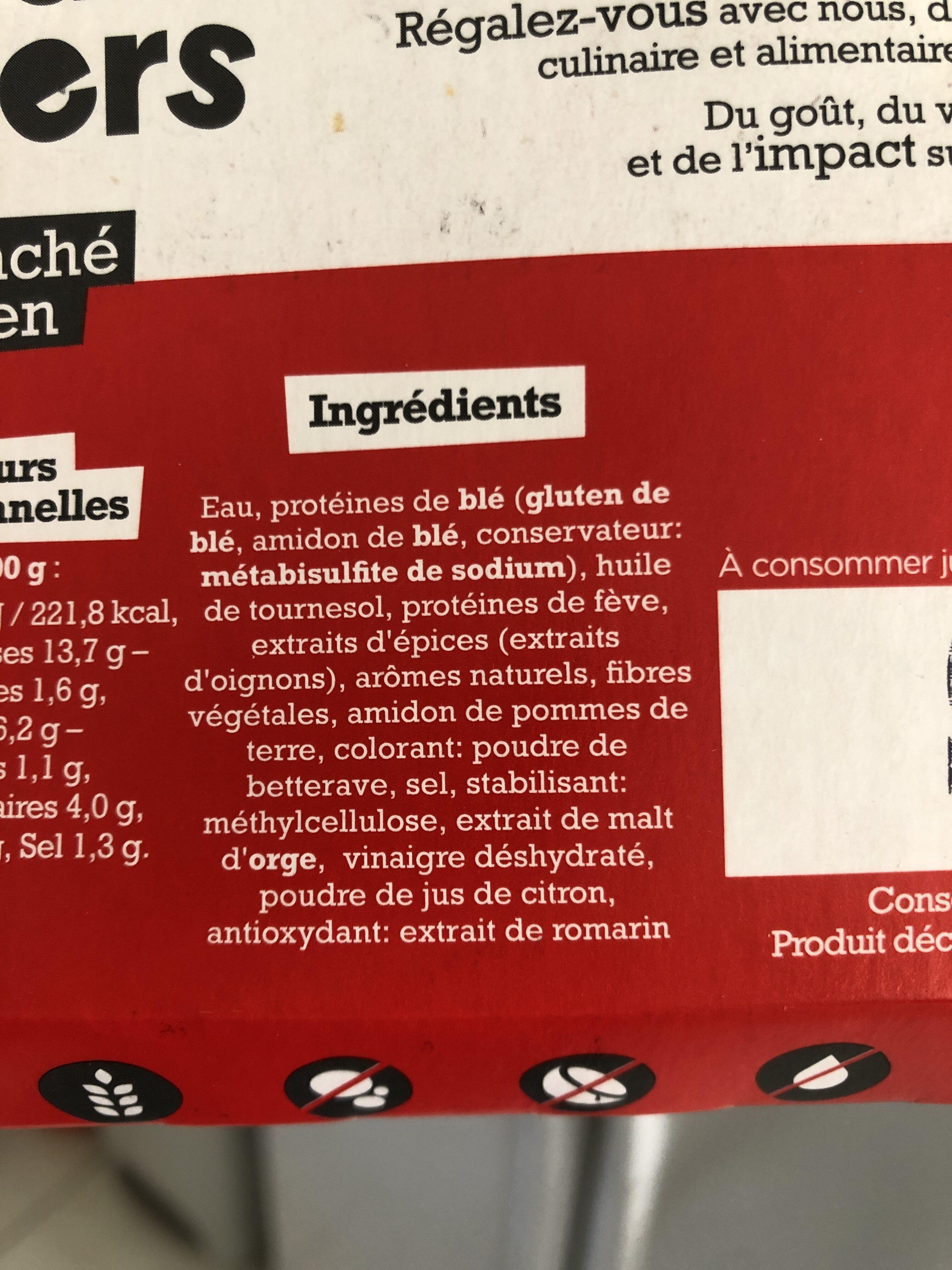 Haché végétal et gourmand - Ingrédients - fr