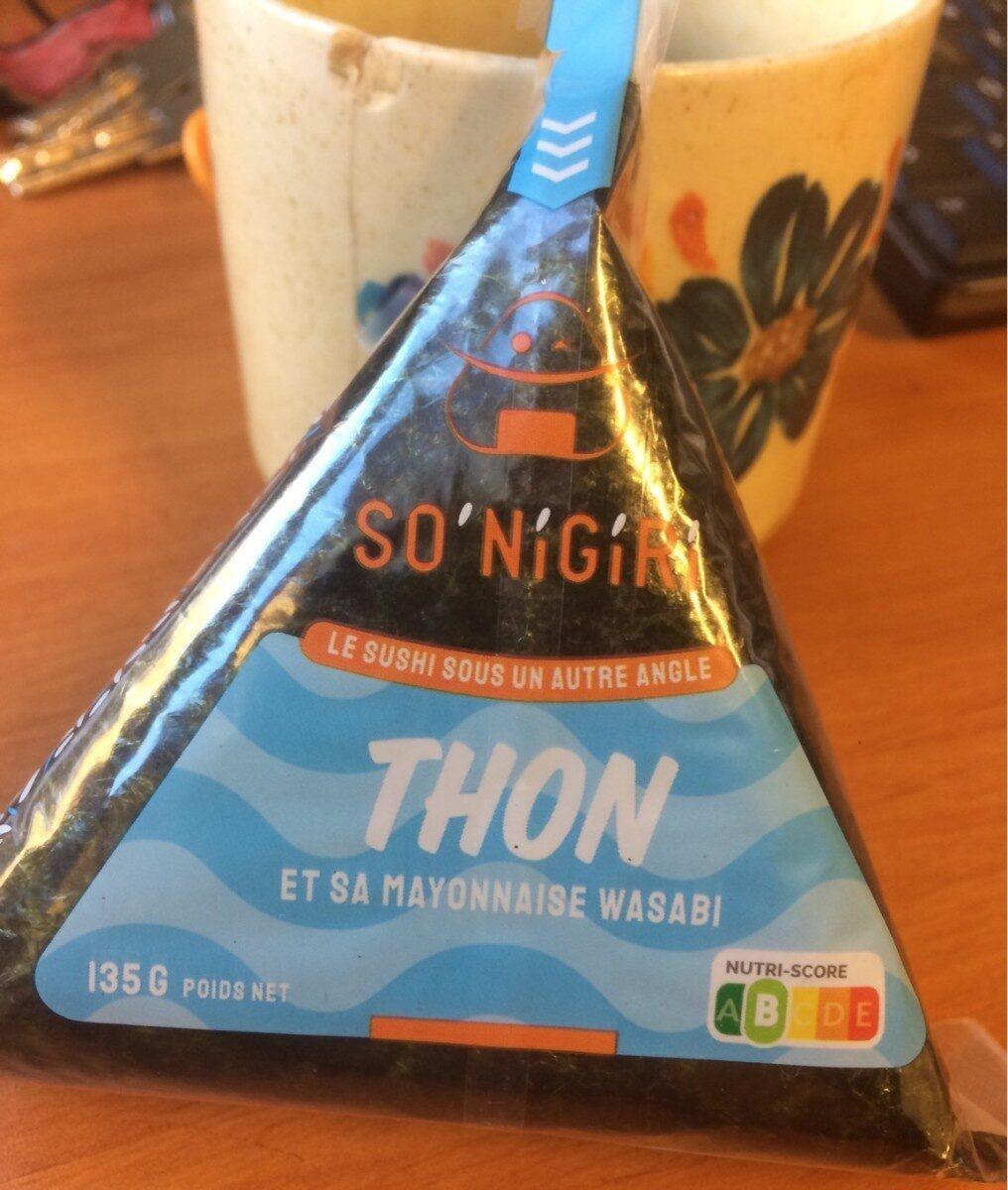 Onigiri thon mayonnaise wazabi - Product