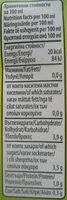 Доматено пюре - Informations nutritionnelles - bg