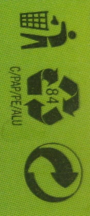 Доматено пюре - Instruction de recyclage et/ou informations d'emballage - bg